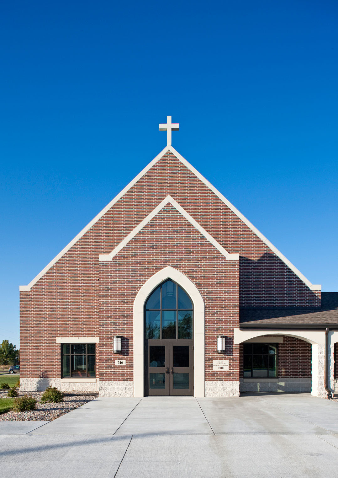 Grace Lutheran Church Sinclair Hille Architects