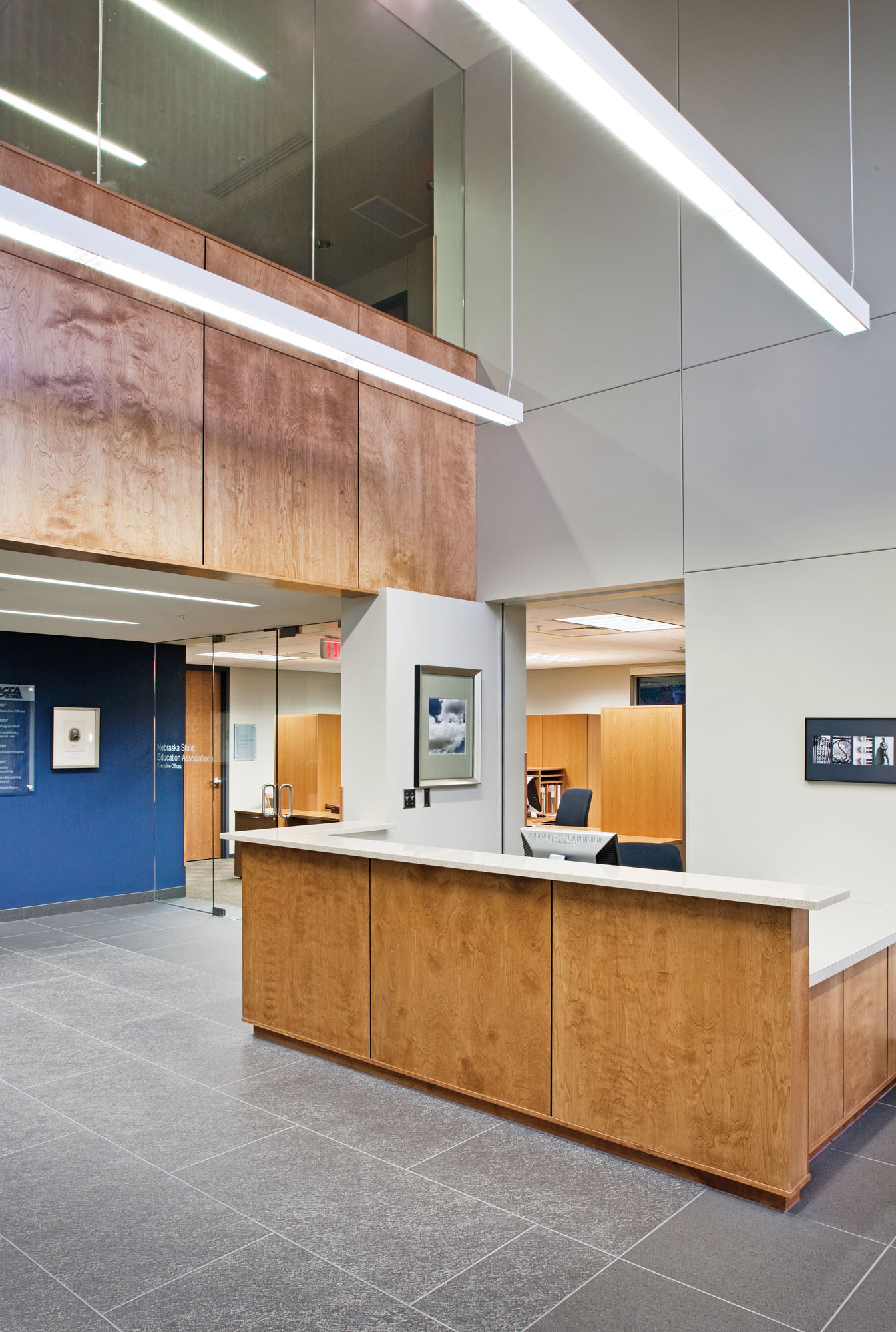 Perfect 1346x2000 Hille Architects Architectural Design Master Planning Lincoln NE  File #976634 Highly Rated Office Interior